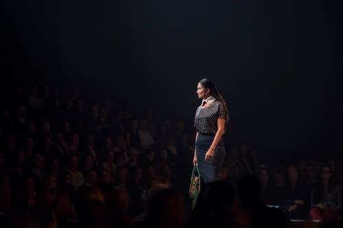 Grosse Fashion Show im Luzerner Saal des KKL. (Bild: Pius Amrein, 24. Oktober 2018)
