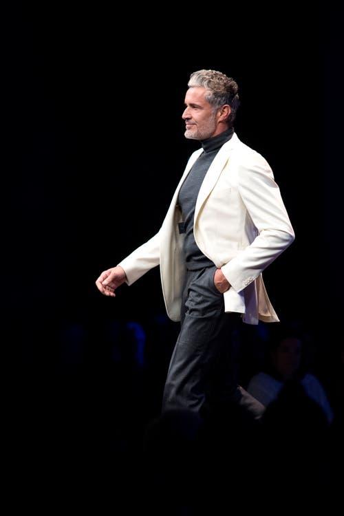 """Die Modeschau trug den Namen: """"Mode-Tag für Generationen"""". (Bild: Pius Amrein, 24. Oktober 2018)"""