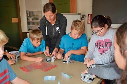 Mit Leidenschaft und Herz an der Sache: Der Ferienpass Grabs begeisterte die Kinder mit zahlreichen Kursen. (Bild: Bilder: PD)