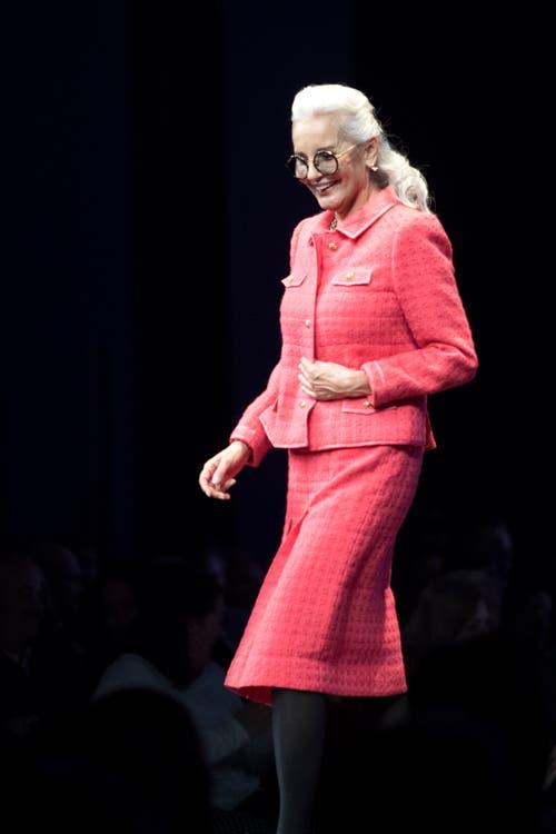 Ganz in Pink. (Bild: Pius Amrein, 24. Oktober 2018)