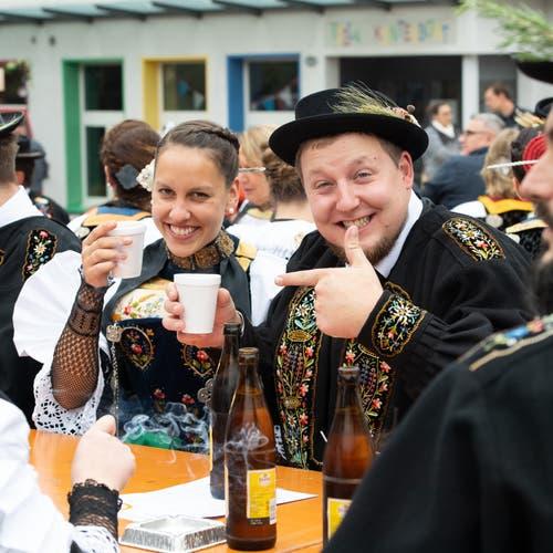 Ein feines Kaffee gehört einfach dazu. (Bild: Melinda Blättler (Hergiswil, 21. Oktober 2018))