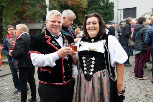 Impressionen von der Älplerchilbi in Hergiswil. (Bild: Melinda Blättler (Hergiswil, 21. Oktober 2018))