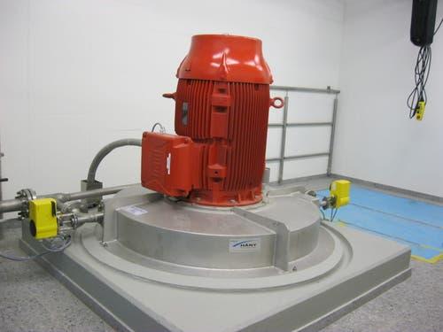 Turbine im Reservoir Talen am 6. Mai 2013. (Bild: PD)