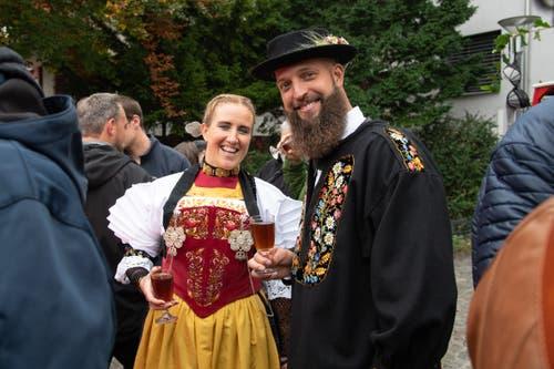 Na dann: Prost. (Bild: Melinda Blättler (Hergiswil, 21. Oktober 2018))