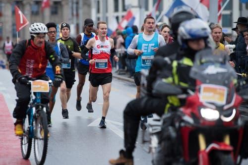 Impressionen von Swiss City Marathon. Fotografiert am 28. Oktober 2018.LZ / Boris Bürgisser
