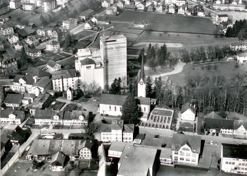 Rickenbach von oben, undatiert (Bild: zVg)