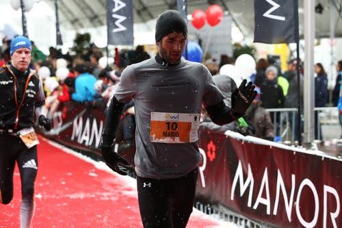 Mario Gyr beim Stadtlauf (Bild: Roger Zbinden (Luzern, 28. Oktobe 2012))