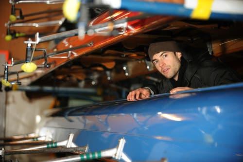 Portrait von Mario Gyr beim Bootshaus See-Club (Archivbild LZ, 5. Mai 2009)