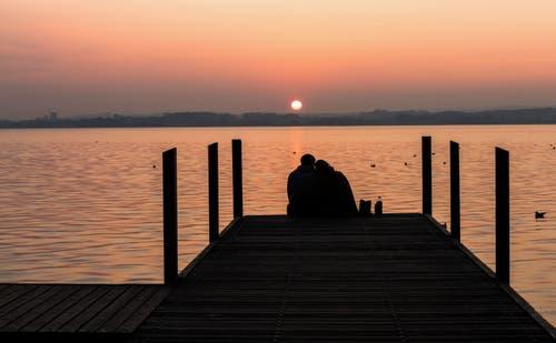 Sonnenuntergang über dem Zugersee. (Bild: Daniel Hegglin (Zug, 8. Oktober 2018))