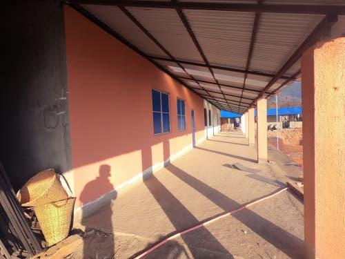 Der Wiederaufbau nach dem verheerenden Erdbeben. (Bild: PD)