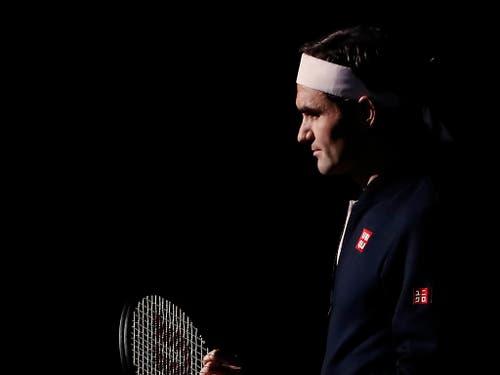 Roger Federer bietet sich an den ATP Finals die nächste Chance auf den 100. Turniersieg (Bild: KEYSTONE/AP/THIBAULT CAMUS)