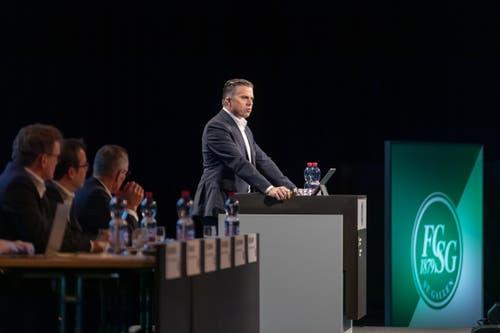 Finanzchef Christoph Hammer gab zu den Zahlen Auskunft.