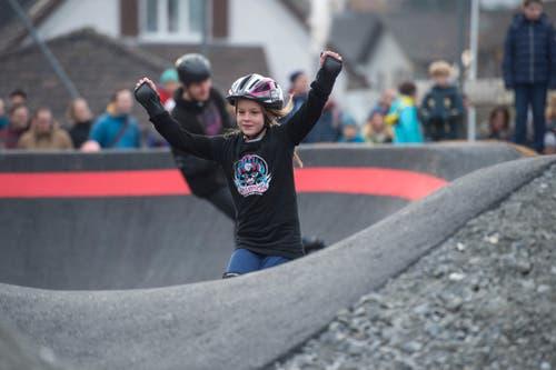 Die Stadt Luzern hofft, dass die neue Anlage zu einem Treffpunkt für Familien wird. (Bild: Dominik Wunderli, 17. November 2018)