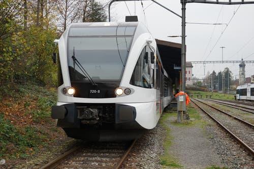 Der Thurbo-Zug ist bereit für einen neuerlichen Einsatz im Dienste der Ostschweizer Zugpassagiere.