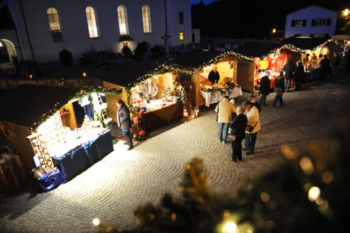 Der Markt in Luthern findet bereits Ende November (23-25 November) statt. (Bild: Corinne Glanzmann, Luthern, 19. November 2010)