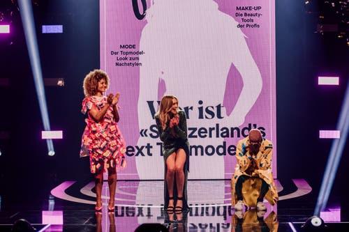 Impressionen vom Finale der Casting-Show «Switzerland's Next Topmodel» in Zürich. (Bild: PD)