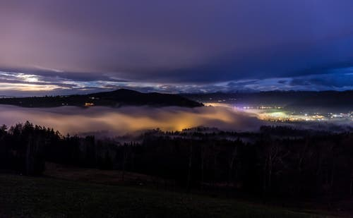 Nebelmeer über dem Ägerital. (Bild: Daniel Hegglin (Zugerberg, 23. November 2018))