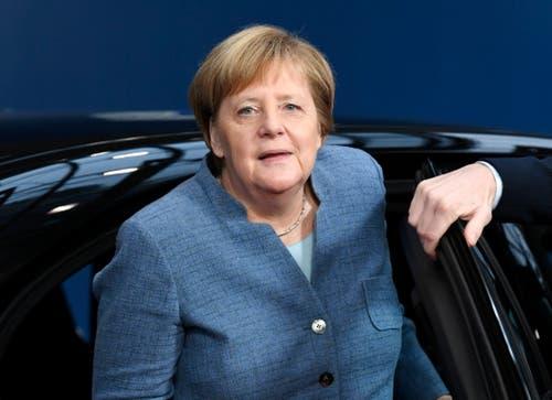 Die deutsche Kanzlerin Angela Merkel. (Bild: Piroschka Van de Wouw/EPA (Brüssel, 25. November 2018))