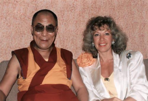 1991 beherbergte sie bei sich im «Gotthard » den Dalai-Lama.