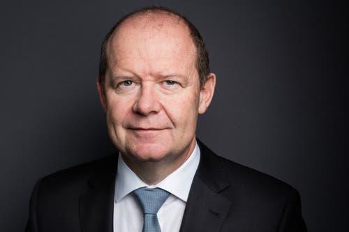 Valentin Vogt ist seit 2011 Präsident des Schweizerischen Arbeitgeberverbandes – und in dieser Funktion im konstanten Austausch mit Keller-Sutter, die Mitglied des Vorstandsausschusses ist.(Bild: Gaetan Bally/Keystone (Kloten, 25. Januar 2016))