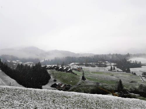 Winterliche Impressionen vom Schwarzenberg oberhalb von Malters. (Bild: Urs Gutfleisch (Schwarzenberg, 27. November 2018))