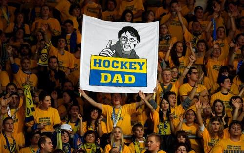 Als «Hockey Dad» bezeichneten die HCD-Fans den Trainer, der 22 Jahre für den Eishockeyclub tätig war. (Bild: Patrick B. Kraemer/Keystone, Kloten, 21. September 2012)