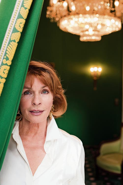 Zeitlos schön: die österreichisch-deutsche Schauspielerin und Filmproduzentin Senta Berger (77). (Bild: Paul Schirnhofer)
