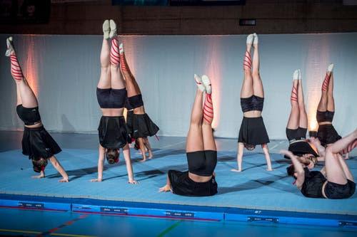 Schauturnen der Gymnastik Gruppe Kreuzlingen. (Bild: Andrea Stalder)