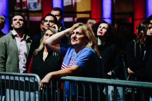 Gespannt werden weitere Resultate erwartet. (Bild: EPA/Alba Vigaray, New York, 6. November 2018)