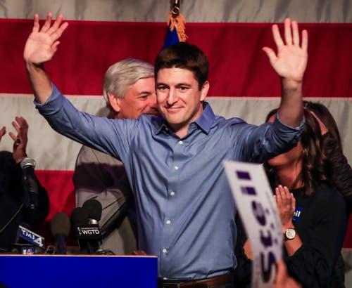 Paul Ryan wird als Anführer der republikanischen Fraktion im Repräsentantenhaus auf Ende Jahr zurücktreten. (Bild: EPA/Tannen Maury, Burlington, 6. November 2018)
