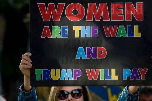 Ein klares Statement. (Bild: EPA/David Maung, Vista, Kalifornien, 6. November 2018)
