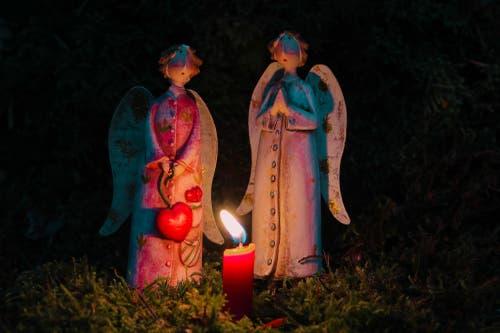 Mit Engeln die Adventszeit erleben. (Bild: André Egli (Ettiswil, 1. Dezembre 2018))