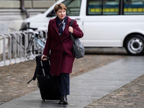 Der Bundesrat hat entschieden: Viola Amherd wird Verteidigungsministerin. (Bild: KEYSTONE/PETER SCHNEIDER)