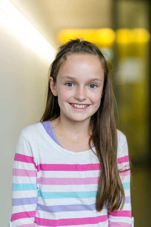 Lena, 12: «In meiner Freizeit lese ich gerne und viel: jeden zweiten Tag etwa 30 Minuten.»
