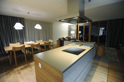 Auch Apartments bietet das Hotel. (Bild: Urs Hanhart (Andermatt, 11. Dezember 2018))