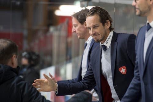 Schweizer Coach Patrick Fischer. (Bild: KEYSTONE/Urs Flueeler (Luzern, 13. Dezember 2018))