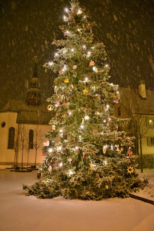 Lustgarten in Willisau. (Bild: Alfred Herzog (16. Dezember 2018))