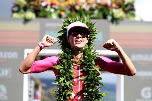 Ein Traumjahr geht zu Ende: Nach ihrem Sieg am Ironman von Hawaii im Oktober... (Bild: Al Bello/Getty)