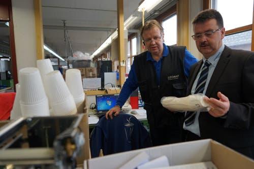 Die Plastikbecher werden zunehmend weniger; gefragt sind biologisch abbaubare Becher.