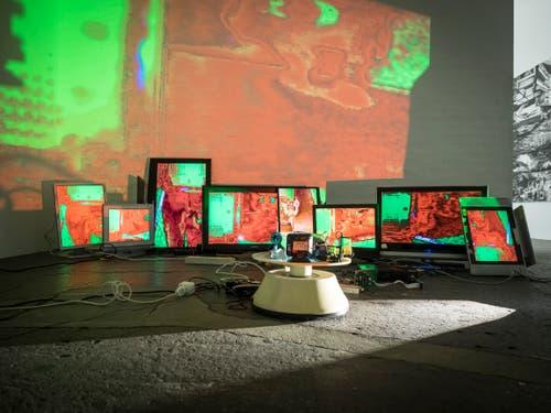 Heimspiel 2018, Kunsthalle St. Gallen. (Bilder: Hanspeter Schiess)