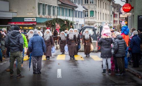 Chlausumzug und Chilbi in Frauenfeld. (Bild: Andrea Stalder)