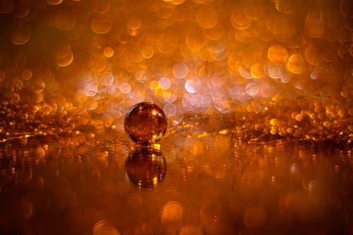Ein wenig Gold und Glitzer zum Fest (Bild: Petra Jung (Hämikon, 19. Dezember 2018))