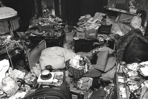 Dieses und die folgenden Bilder zeigen, wie es im Haus von Helio Hickls Mutter zuletzt aussah. (Bild: Helio Hickl)