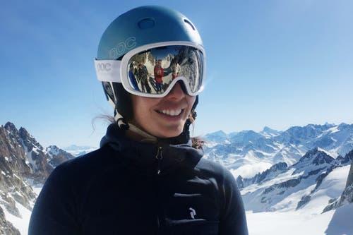 Dominique Gisin hatte schon immer eine Leidenschaft für Berge und Alpinismus. (Bild: PD/SRF)