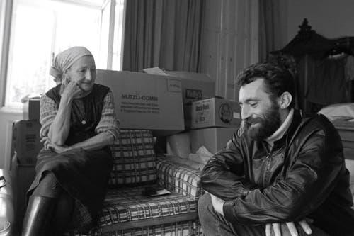 Helio Hickl mit seiner Mutter in früheren Jahren. (Bild: pd)