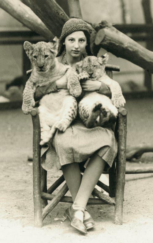 Helio Hickls Mutter war im Wohlstand aufgewachsen – hier ein Bild aus ihrer Jugend. (Bild: pd)