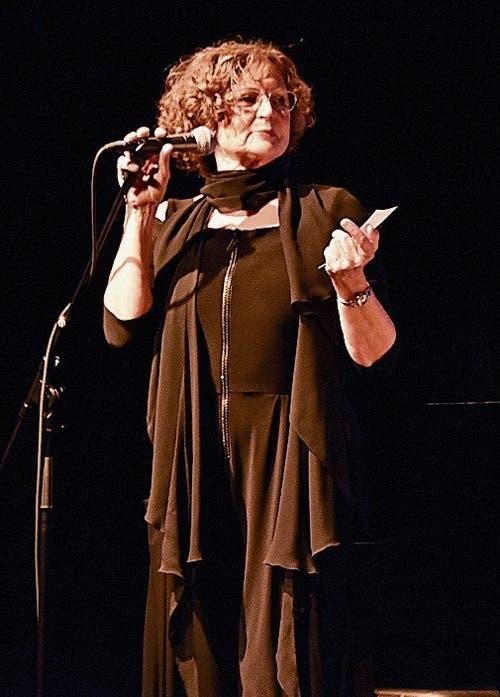 Annalise Bereiter aus Grabs führte durch das Konzert.