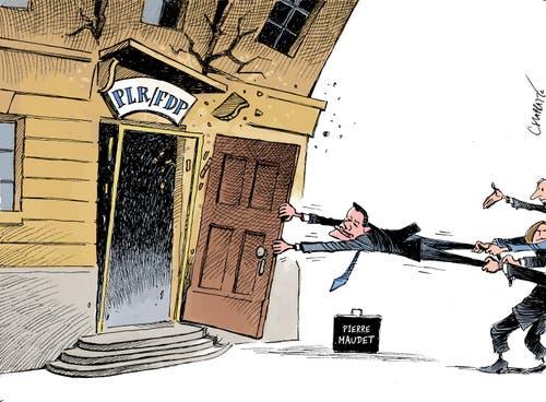 Patrick Chappatte, «NZZ am Sonntag.»