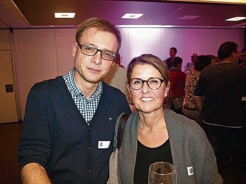 Helene Weber und Robert Kranz. (Bild Kurt Liembd (Oberdorf, 30. November 2018))