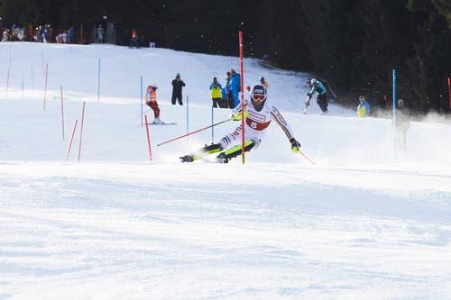 Fritz Dopfer wird Dritter. (Bild: Jakob Ineichen (Sörenberg, 29. Dezember 2018))
